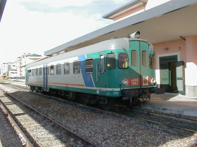 I treni Intercity al sud Italia
