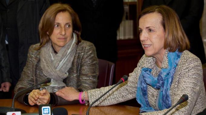 Maria Lanzetta con Elsa Fornero