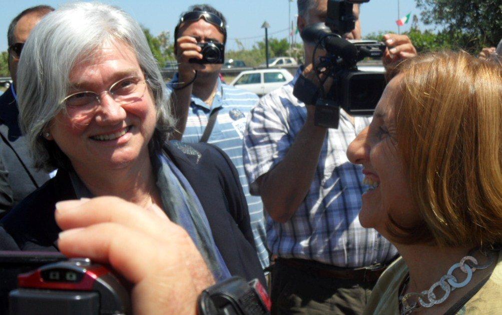 Maria Carmela Lanzetta con Rosy Bindi