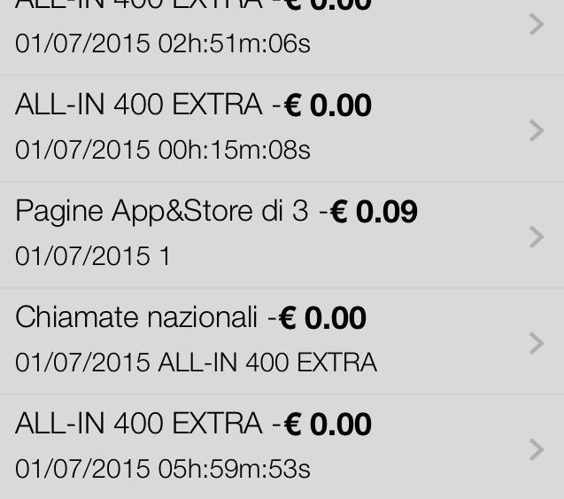 Ammanco per App&Store di Tre Italia